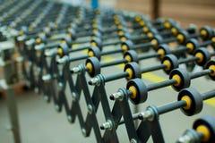 Sistema de rolos da produção Imagem de Stock