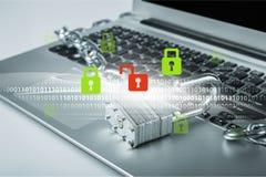 Sistema de segurança Foto de Stock Royalty Free