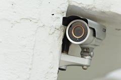 Sistema de seguridad de la cámara de vídeo foto de archivo libre de regalías
