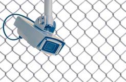 Sistema de seguridad de la cámara de vídeo imagen de archivo