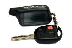 Sistema de seguridad del coche Foto de archivo libre de regalías