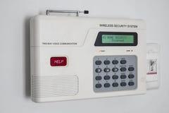 Sistema de seguridad en el hogar Foto de archivo libre de regalías