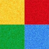 Sistema de texturas abstractas Fotos de archivo