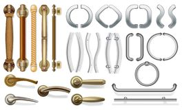 Sistema de tiradores de puerta libre illustration