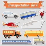 Sistema de todos los tipos de icono del transporte para crear su propio infogr ilustración del vector