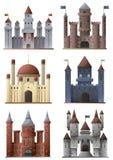Sistema de torres y de castillos Imágenes de archivo libres de regalías