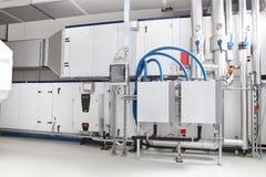 Sistema de tramitación de la calefacción central y del aire de enfriamiento fotografía de archivo