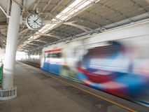 Sistema de transporte de Banguecoque (BTS) Fotografia de Stock Royalty Free
