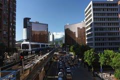 Sistema de transporte del Rapid de Taipei Foto de archivo libre de regalías