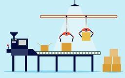 Sistema de transporte no projeto liso Ilustração do vetor Foto de Stock