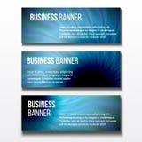 Sistema de tres banderas del negocio Imagenes de archivo