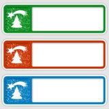 Sistema de tres cajas Foto de archivo