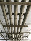 Sistema de tubo en techo Fotografía de archivo libre de regalías