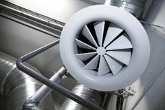 Sistema de tubos de ventilación Fotos de archivo libres de regalías
