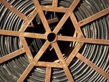 Sistema de tubulações da irrigação de gotejamento Imagem de Stock Royalty Free