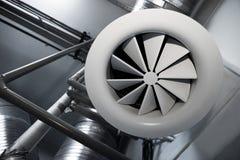 Sistema de tubulações de ventilação Fotografia de Stock