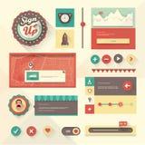 Sistema de UI Foto de archivo libre de regalías