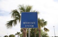 Sistema de um estado a outro Fotos de Stock Royalty Free