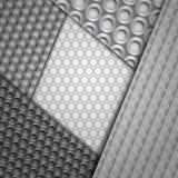 Sistema de varios modelos inconsútiles de la fibra de carbono Fotografía de archivo