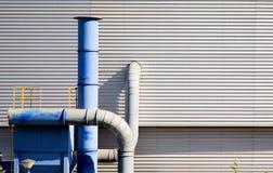 Sistema de ventilação da indústria Fotos de Stock