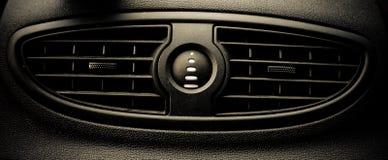 Sistema de ventilação do carro Fotografia de Stock Royalty Free
