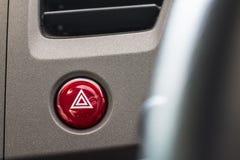 Sistema de ventilação do carro com botões do severl e detalhes de moderno fotografia de stock