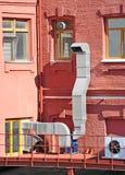 Sistema de ventilação industrial Imagens de Stock