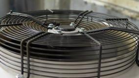 Sistema de ventilação industrial na empresa vídeos de arquivo