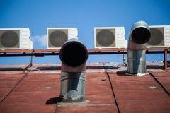 Sistema de ventilación Imagen de archivo libre de regalías