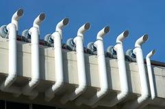 Sistema de ventilación Fotografía de archivo libre de regalías