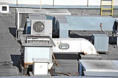 Sistema de ventilación industrial Foto de archivo