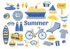 Sistema de verano Fotografía de archivo