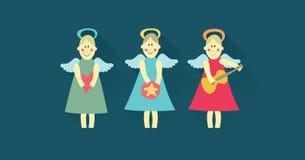 Sistema del ángel Fotografía de archivo libre de regalías