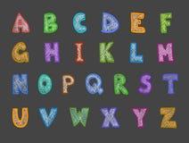 Sistema del ABC ilustración del vector