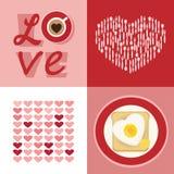 Sistema del amor ilustración del vector