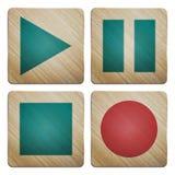 Sistema del audio Foto de archivo