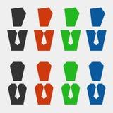 Sistema del avatar del negocio Imagen de archivo