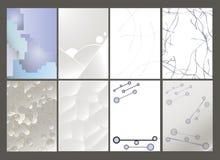 Sistema del aviador, plantillas del diseño del folleto Foto de archivo