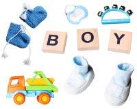 Sistema del bebé de accesorios Foto de archivo