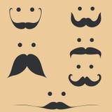 Sistema del bigote Imagen de archivo libre de regalías