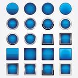 Sistema del botón Fotos de archivo libres de regalías