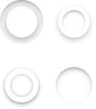 sistema del círculo 3d Fotografía de archivo