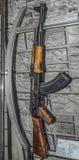 7 sistema del campione della mitragliatrice leggera del Kalashnikov da 62 millimetri nel 1947 Immagini Stock