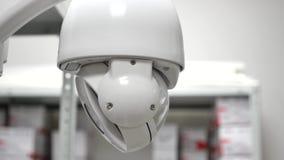 Sistema del CCTV de la cámara de PTZ en funcionamiento