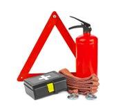 Sistema del coche de seguridad Fotografía de archivo libre de regalías