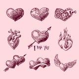 Sistema del corazón Imagen de archivo