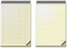 Sistema del cuaderno Foto de archivo