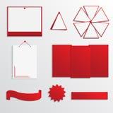 Sistema del cuadro de texto para el diseño del sitio web Foto de archivo libre de regalías