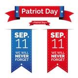 Sistema del día del patriota Fotografía de archivo libre de regalías