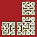 Sistema del diseño del marco de Zufar Fotos de archivo
